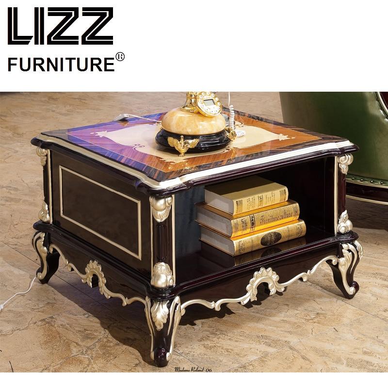Marble side table living room furniture set royal - Antique side tables for living room ...