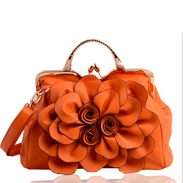 Magic fish! women handbag for women bags leather handbags brands women's pouch bolsas national style flower bag clutch LS4996mf