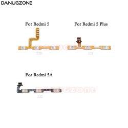 Bouton marche/arrêt Volume muet bouton de commutation câble flexible pour Xiaomi Redmi 5 Plus 5A