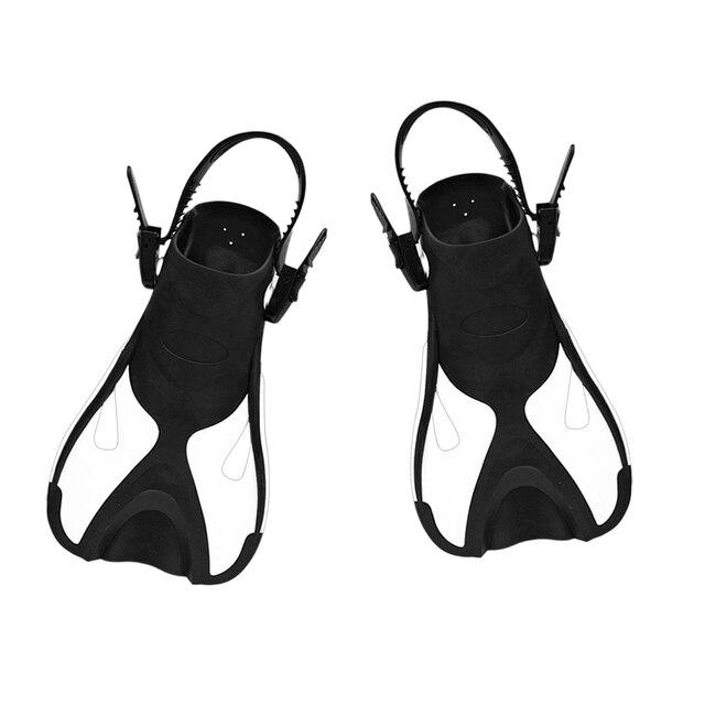 Palmes de plongée sous-marine Premium talon ouvert palmes de plongée sous-marine réglables palmes de plongée en apnée natation Sports nautiques outil pour enfants enfant