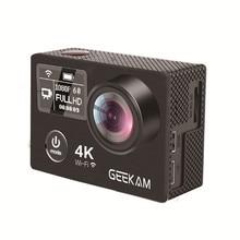 Action Camera GEEKAM K8 Ultra HD 4K WIFI Sport 360VR K8 1080P Dual 2″ LCD 170D Wide-angle Waterproof Helmet Cam MINI Camcorder