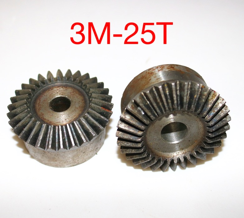 2PCS/LOT  3M-25Teeths  Metal Standard Bevel Gear 90 Degrees 1 :1 Transmission Diameter78mm Hole:16mm lot 2 90 lot 3 60 g700 sop28