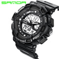SANDA 726G Ladies Automatic waterproof watch Fashion women sport Watch top quality famous clock army luxury wristwatch military