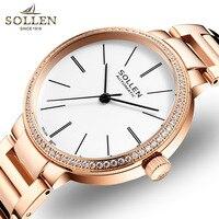 Императивом автоматические механические часы женские из розового золота часы Топ Роскошные часы женские наручные часы Мода Повседневная