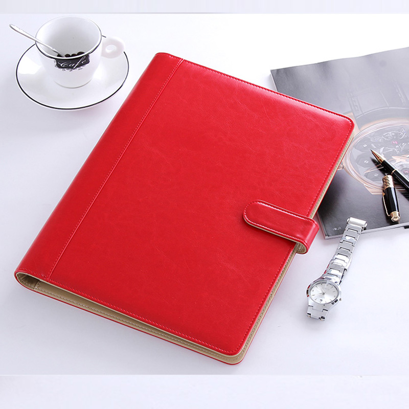 Colorful Multifuctional A4 Paper File Folder Book Documents Bag File Document Bags With 4 Ring Binder Free Shipping 1199G