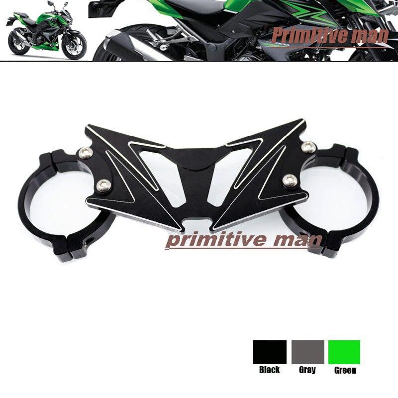 Para accesorios de motos kawasaki z250 z300 z 250 z 300 equilibrio choque fronta