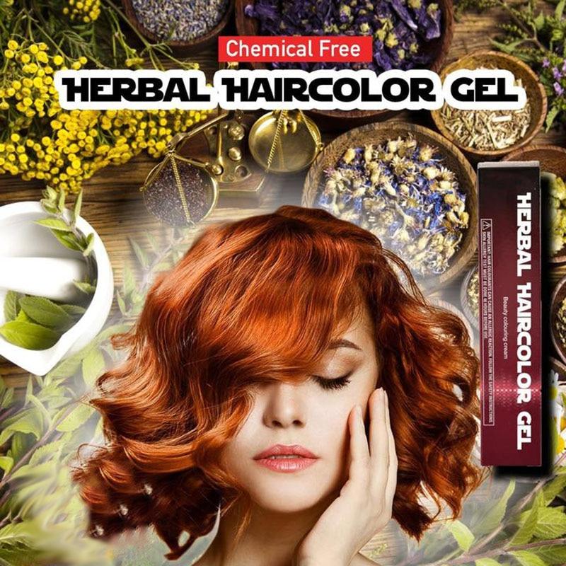 Aliexpress Buy 4 Colors Chemical Free Natural Herbal Hair