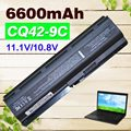 6600mAh Battery for HP Pavilion DM4 DV3 DV5 DV6 DV7 G32 G42 G62 G56 G72 for Presario CQ32 CQ42 CQ56 CQ62 CQ630 CQ72 MU06