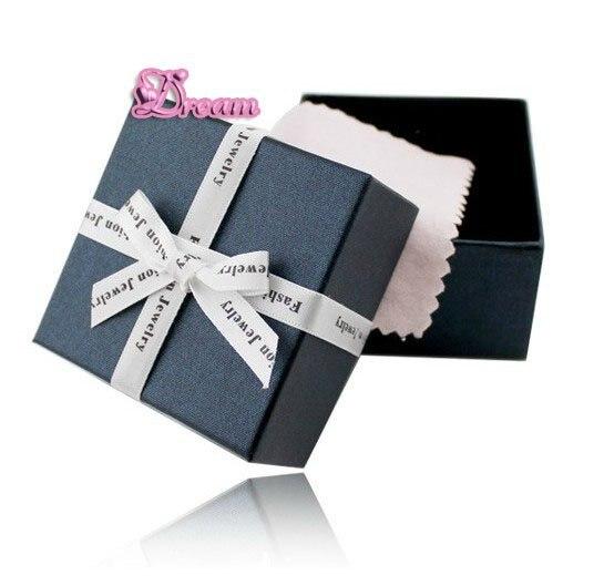 Высокое качество, модные изысканные, ювелирные изделия, Подарочная коробка, двойная губка усиленная защита+ хлопок протирает серебряную ткань, № 6044