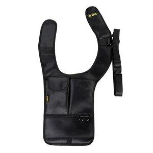 Image 4 - Sac de sécurité Anti vol, sac de voyage, sac sous les aisselles épaules aisselles, étui à pistolet tactique avec pochettes multifonctions, Pack antivol