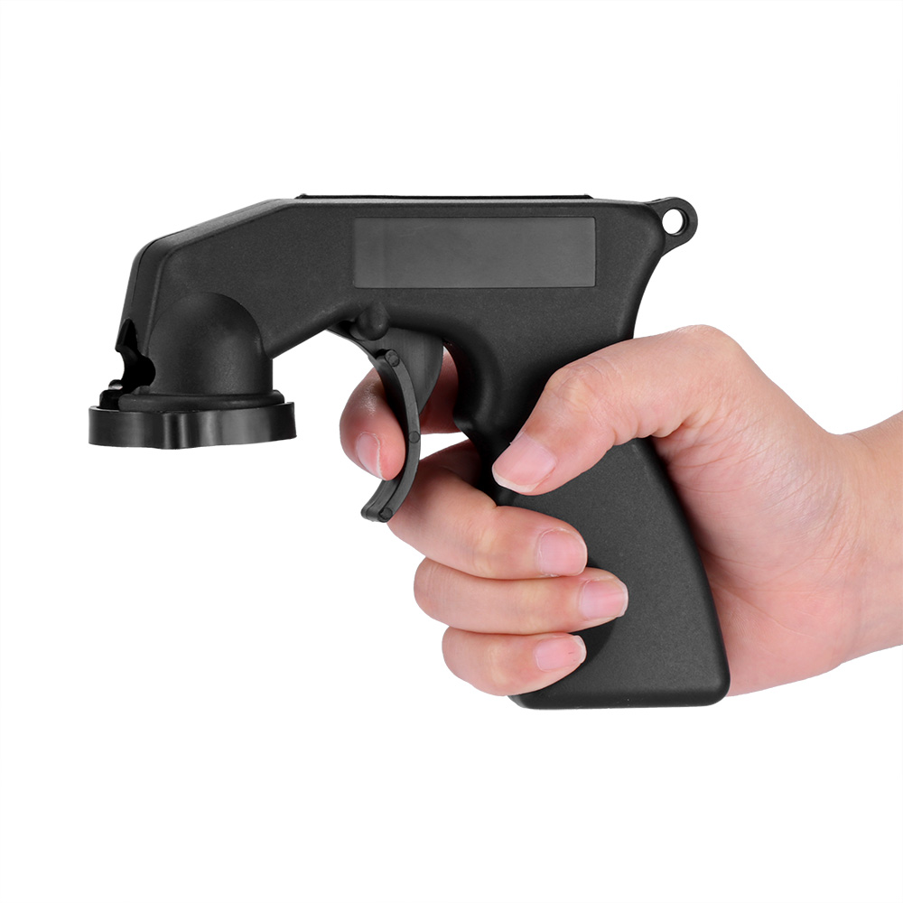 BLACK PROFESSIONAL AUTOMATIC SPRAY HANDLE PAINT APPLICATOR TRIGGER GUN TOOL
