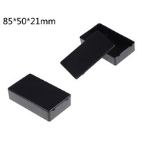 85*50*21mm praktyczna obudowa z tworzywa sztucznego elektroniczne pudełko projektowe obudowa oprzyrządowania tanie tanio Elektryczne Plastic Project Box