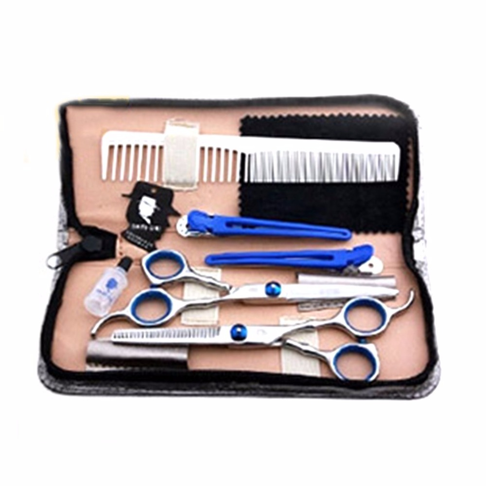 Constructive Smith Chu Xk01 Hair Scissors Set 6 Inch Cutting Thinning Styling Tool Salon Hairdressing Shears Regular Flat Teeth Blade 58hrc Styling Tools