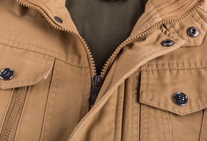 Brand Mens Winter Cotton Bomber Jacket Coat Plus Size 5XL 6XL Stand Collar Male Casual Air Brand Mens Winter Cotton Bomber Jacket Coat Plus Size 5XL 6XL Stand Collar Male Casual Air Force Flight Jacket Windbreaker Men