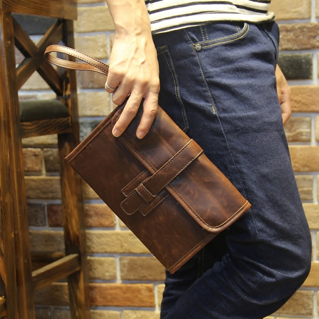 3ed51c3b6 Brand Vintage PU Leather Male Wallet Purse Men's Clutch Bags Long Business  Multi-functional Wallet New Men Bags Cool Beautiful