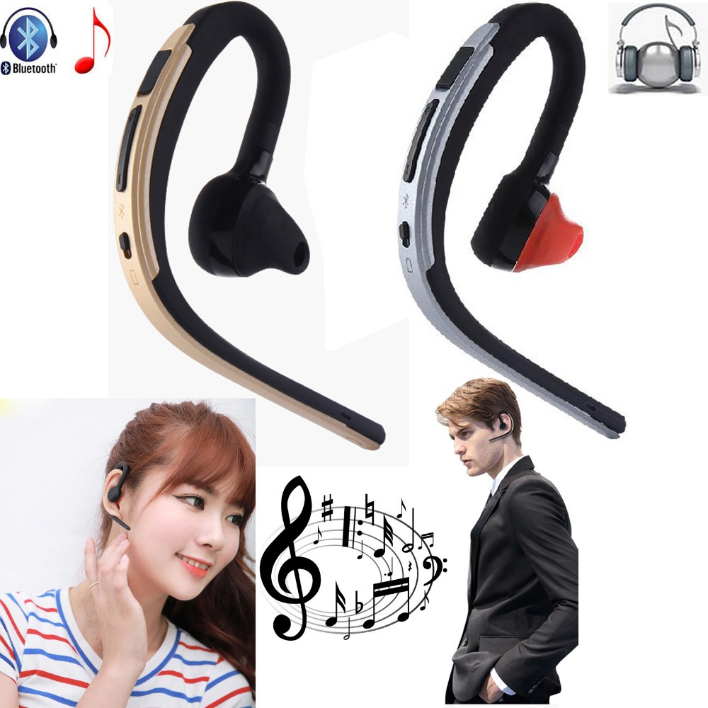 Wireless Headset Stereo Bluetooth Heaphone Earphone Handsfree Earpiece With Mic For Android IOS Samsung iPhone LG PC PS3 Tablet a01 bluetooth headset v4 1 wireless headphones noise cancelling with mic handsfree earpiece for driving ios android