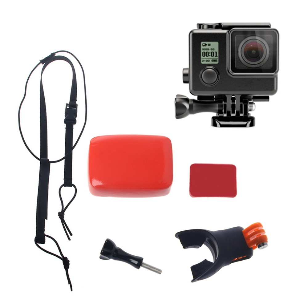 Surfing Shoot Surf Dummy Bite Mouth Grill Mount For GoPro Hero 5 4 3 2 SJCAM Kit