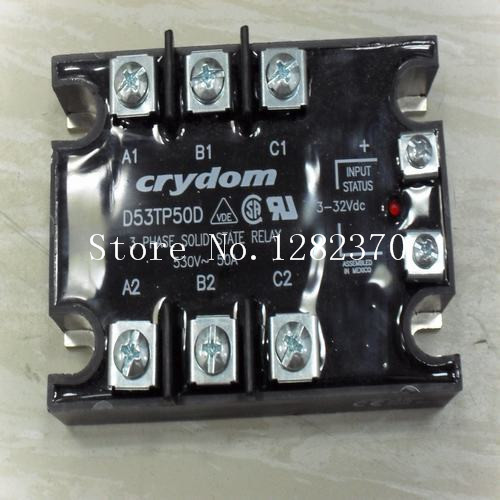 [SA] New original authentic special sales CRYDOM Crydom solid state relay spot D53TP50D [sa] new original authentic spot celduc solid state relays so889060 2pcs lot
