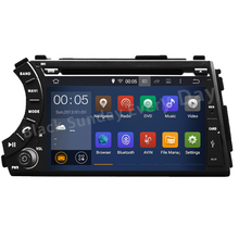 Free camera, Capacitive Cortex A9 QUAD-Core Pure Android 5.1.1 Car DVD GPS For Ssangyong Actyon Kyron With radio 3G WiFi OBD DVR