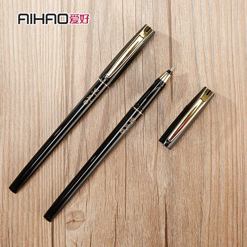 12 pcs aihao gel caneta assinatura caneta 04