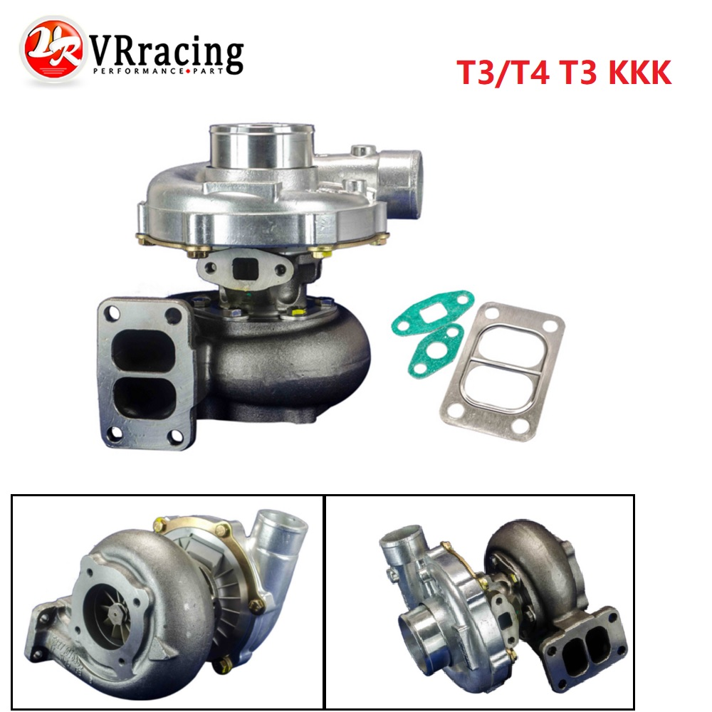 VR RACING-UNIVERSEL TURBO T3/T4 T3 KKK TURBOCOMPRESSEUR 4 BOULON COMPRESSEUR. 50A/R 350HP + VR-TURBO38