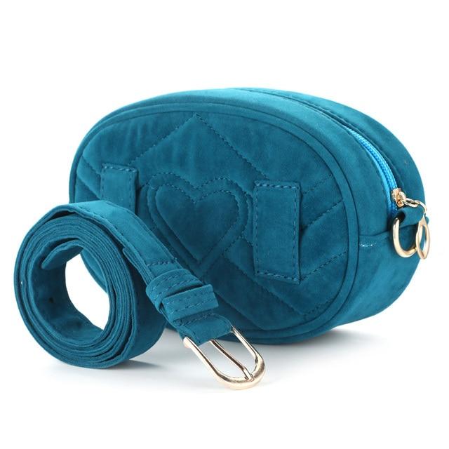 waist pack female 2019 New Bag for Women Waist Bag Women Round Belt Bag Luxury Brand New Fashion designer High Quality corduroy
