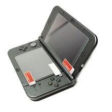 Топ закаленное Стекло ЖК-дисплей Экран протектор+ нижняя прозрачная ПЭТ полное покрытие Защитная пленка для nintendo 3DS XL/LL 3dsxl/3dsll