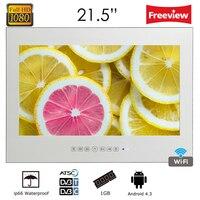 Souria Full HD 1080p дюймов 21,5 Android Smart исчезающее стекло зеркало водостойкий Телевизор с LAN и интегрированный Wi Fi