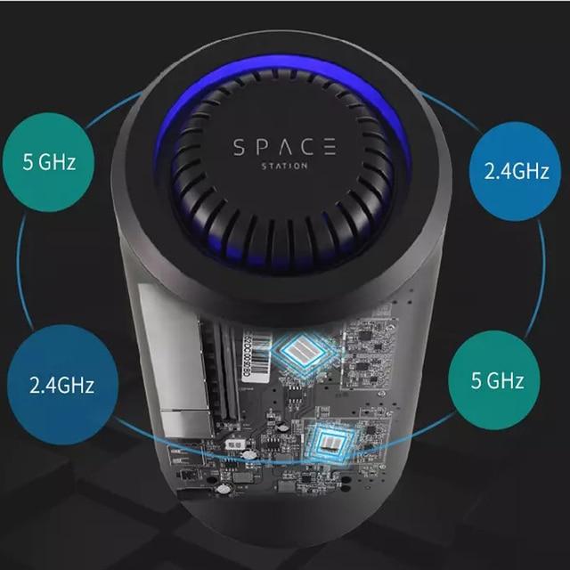 11AC ギガビット 5 3g ルータ無線 lan リピータ 1200 300mbps のデュアルバンド壁を通してハイパワー範囲エクステンダーアクセスポイントロング範囲