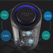 11AC جيجابت 5G راوتر واي فاي مكرر 1200Mbps ثنائي النطاق من خلال الجدار عالية الطاقة المدى موسع نقطة وصول طويلة المدى