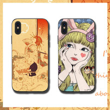 Bunny girl Phone Cases Cover for iphone X XR XS MAX 6 6s 7 8 Plus TPU Cover Coque For iphone 7 8Plus iphone 5SE Cases rick and motry phone cases cover for iphone x xr xs max 6 6s 7 8 plus tpu cover coque for iphone 7 8plus iphone 5se cases