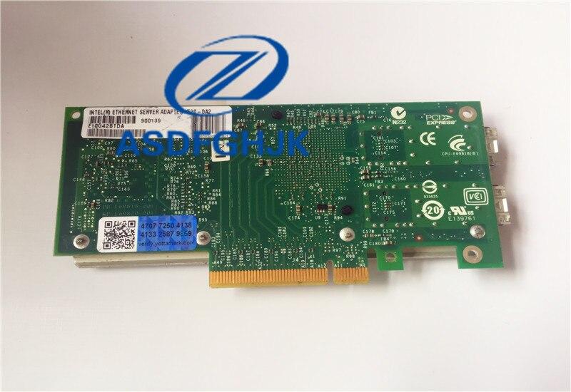 Intel//Dell X520-DA2 10Gb 10Gbe 10 Gigabit Network Adapter NIC Dual E10G42BTDA