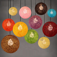 Colorful Ball LED String Fairy Lights Pendant Light For Christmas Xmas Wedding decoration Party bar aisle lamps