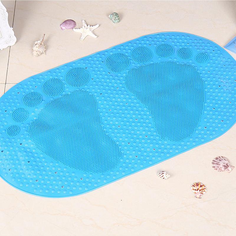 Big Feet Plastic Shower Mat Bath Mats Non Slip Mats Anti ...