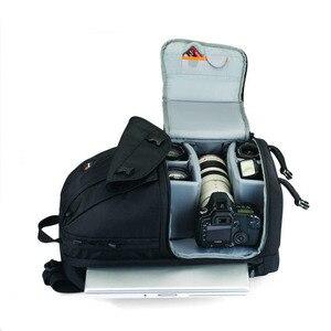 """Image 4 - Atacado genuíno lowepro fastpack 350 foto dslr câmera saco digital slr mochila portátil 15.4 """"com todas as condições meteorológicas cobrir"""