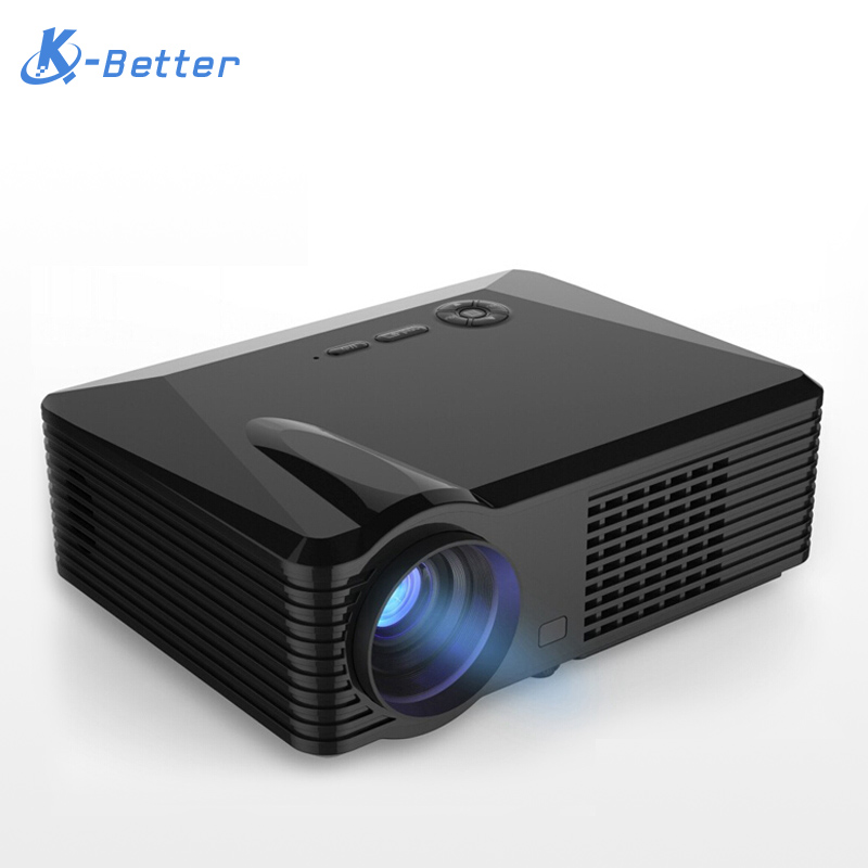 2016 2500 lumens portable led projector for video for Best portable projector 2016