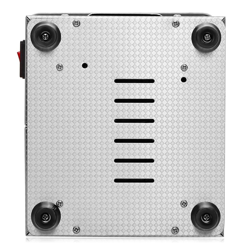 2L Professionele Ultrasone Reiniger Digitale Ultrasone Reiniger Machine Met Verwarming Timer Reiniging Sieraden Valse Tand Scheerapparaat - 5