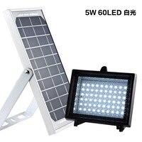 Solar 60 LED Outdoor Garden Spotlight Floodlight Wall Light Garden Spotlight