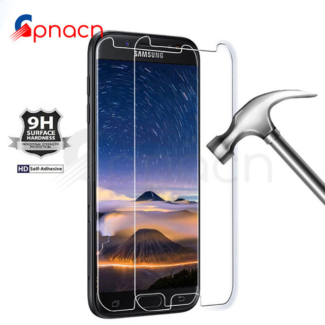 GPNACN 9H 0.22mm Tempered Glass For Samsung Galaxy J3 J5 J7 A3 A5 A7 2015 2016 2017 J510 J710 Screen Protector Protective Film