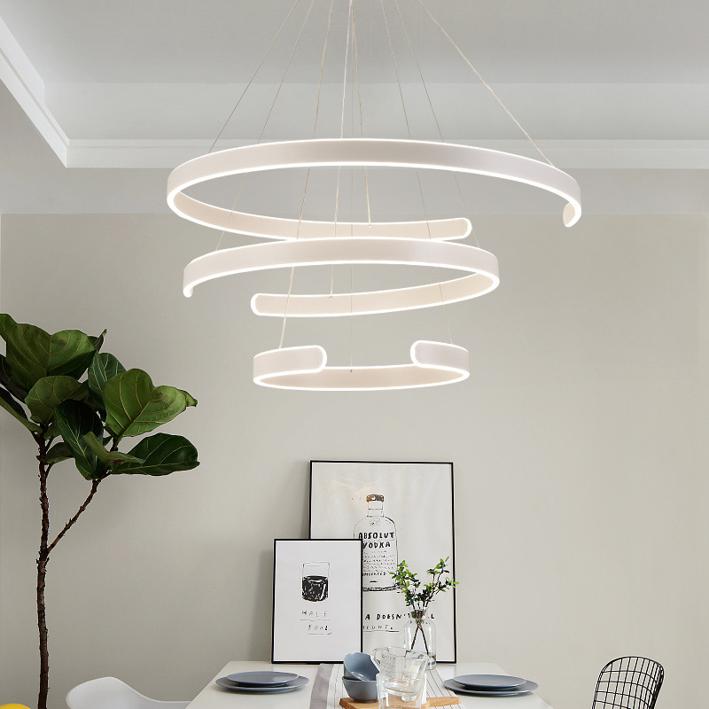 Modern suspension luminaire LED suspended lamps nordic restaurant hanging lighting home fixtures dining room pendant lights iwhd iron led pendant lights modern fashion bedroom hanging lamp dining room suspension luminair home lighting fixtures lampara