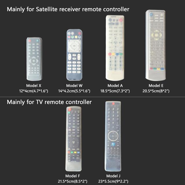 Soft Silicone Cover For Haier Gree Media Konka TV Air Condition Remote Control Samsung HTR-160 AA59-00611A Konka K906 KK345