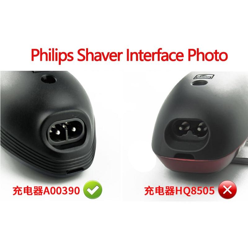 США вилка A00390 зарядное устройство Шнур питания Адаптер для Philips Norelco бритва RQ310 RQ311 RQ312 RQ320 RQ328 RQ330 RQ338 A00390 зарядное устройство