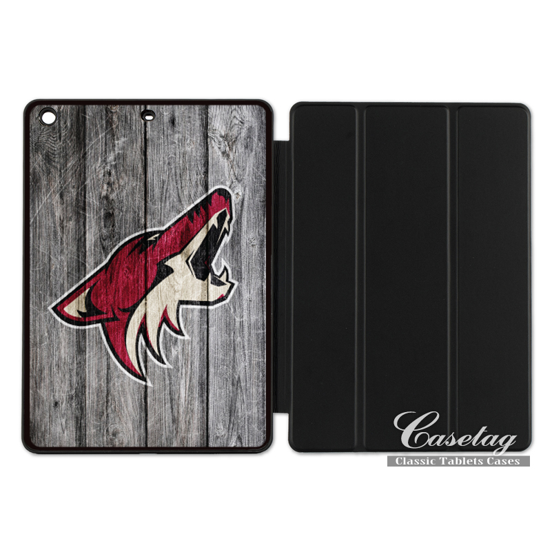 Arizona Coyotes Ice Hockey Sport Smart Cover Case For Apple iPad 2 3 4 Mini Air 1 Pro 9.7 10.5 12.9 New 2017 a1822