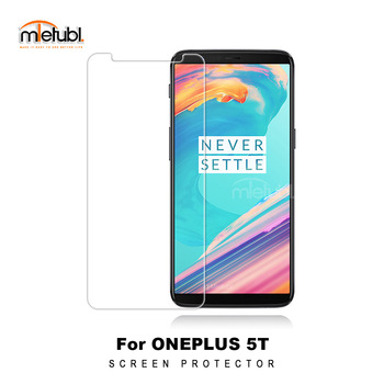 100pcs/lot For one Plus 5t Premium 9H 2.5D Tempered Glass Screen Protector Protective Film  for oneplus 5t