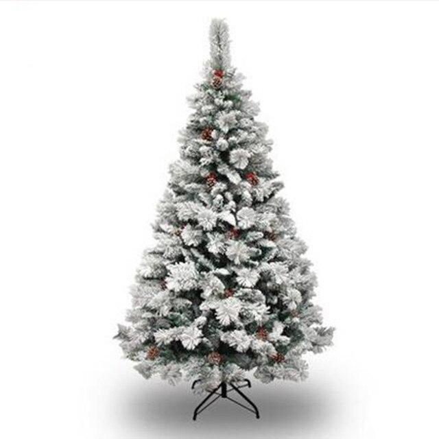 1.8M / 180CM pine needles snow Christmas tree hanging sticks pine nuts Christmas tree shrine hotel mall home decoration