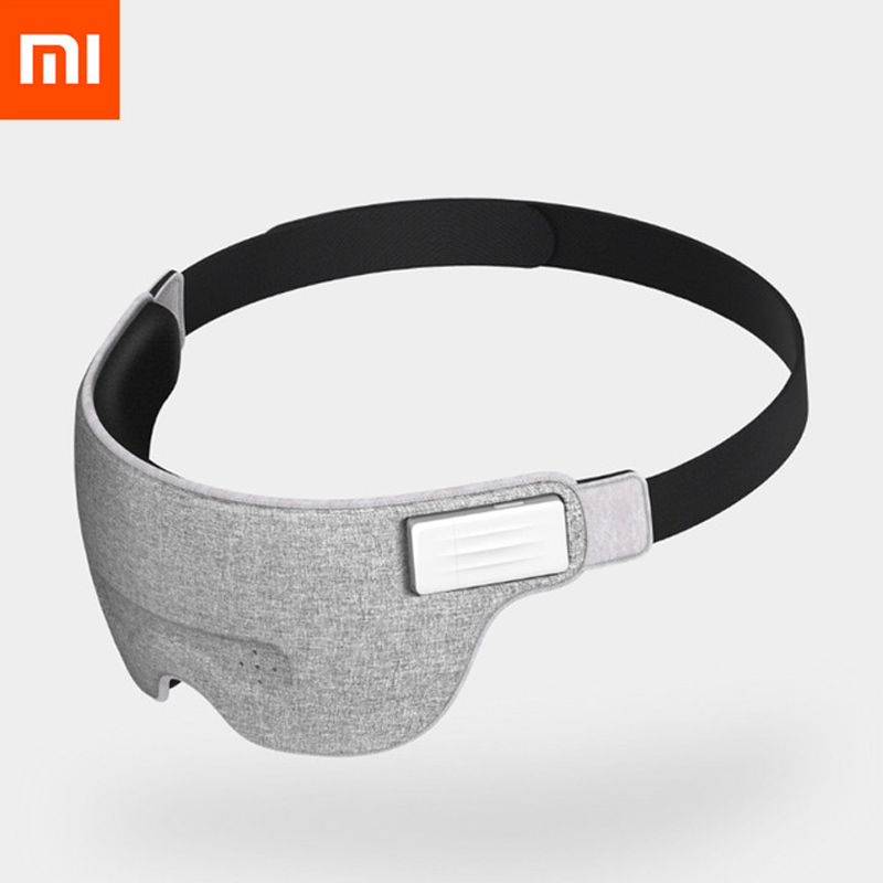 Original Xiaomi Mijia Air Brain Wave Sleeply Eye Mask Work Lunch Break Travel Nap Bluetooth Connection