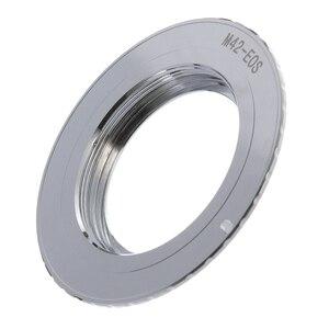 Image 1 - 9th génération AF confirmer avec anneau adaptateur de puce pour objectif M42 à Canon EOS 750D 200D 80D 1300D