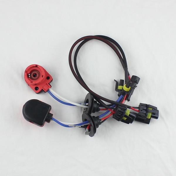 D2S D2R D2C D4S D4R D4 Γυρίστε AMP HID Φίσα Xenon Connector Βολβοί καλωδίων καλωδίων Προσαρμογέας Βάση υποδοχής (2τμ)