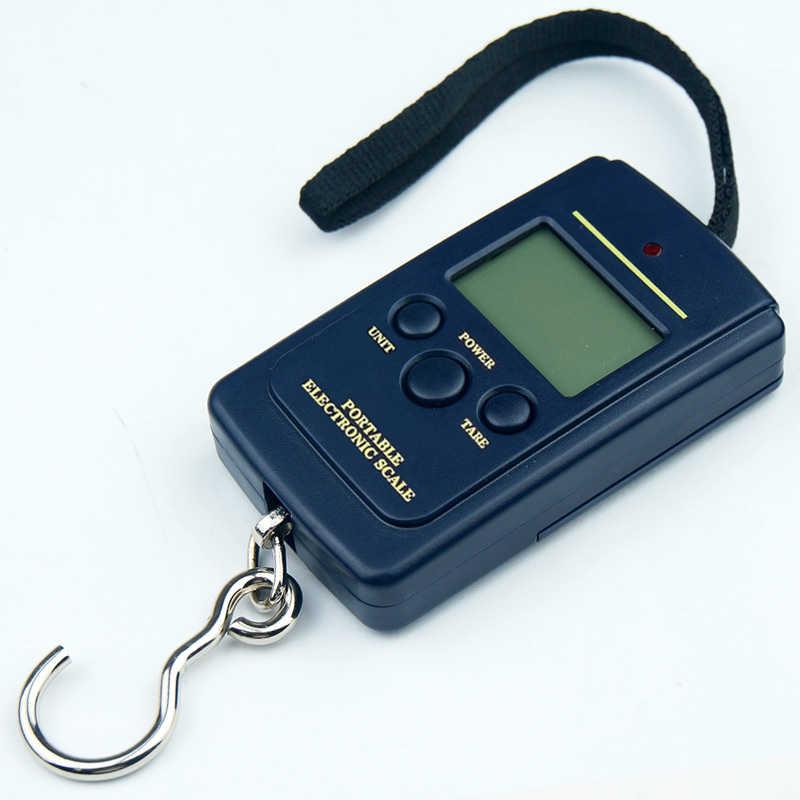 Balance de bagage électronique numérique 50 kg/110lb balance de valise portable manipulée sac de voyage