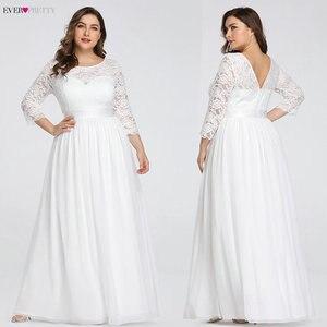 Image 5 - גלימת דה Soiree אי פעם די 7412 ארוך תחרה ערב מסיבת שמלות 2020 ארוך שרוול רשמי חורף נשים אלגנטי Abendkleider